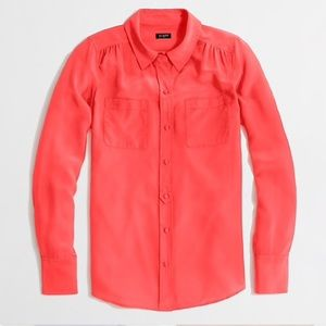 J. Crew Factory | Silk Blouse